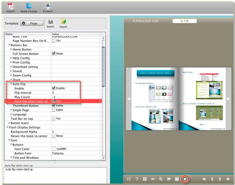 Use flip book maker free download to create attractive flipbooks.