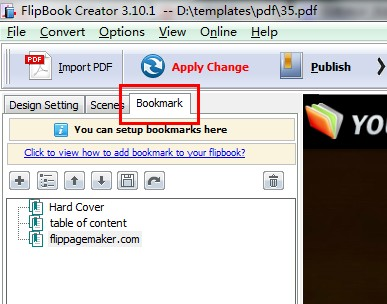 Add Table of Contents into Your Flipbook for Quick Link to Each