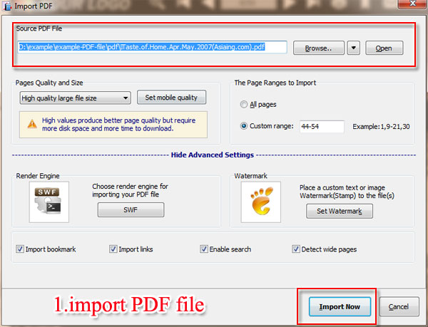 How To Attach The Downloadable Pdf To The Flip Book