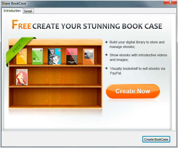 FlipBook Creator BookShelf