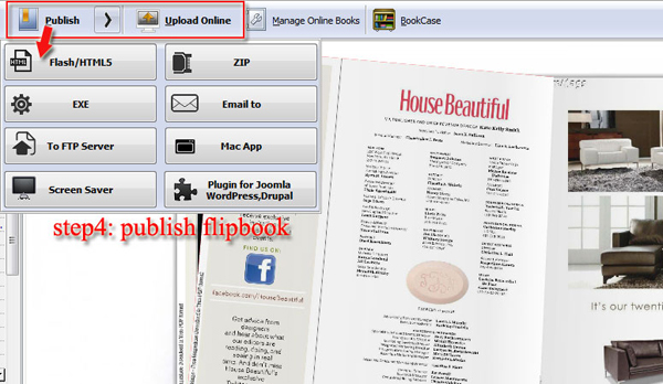 make flash flipping book from pdf easily