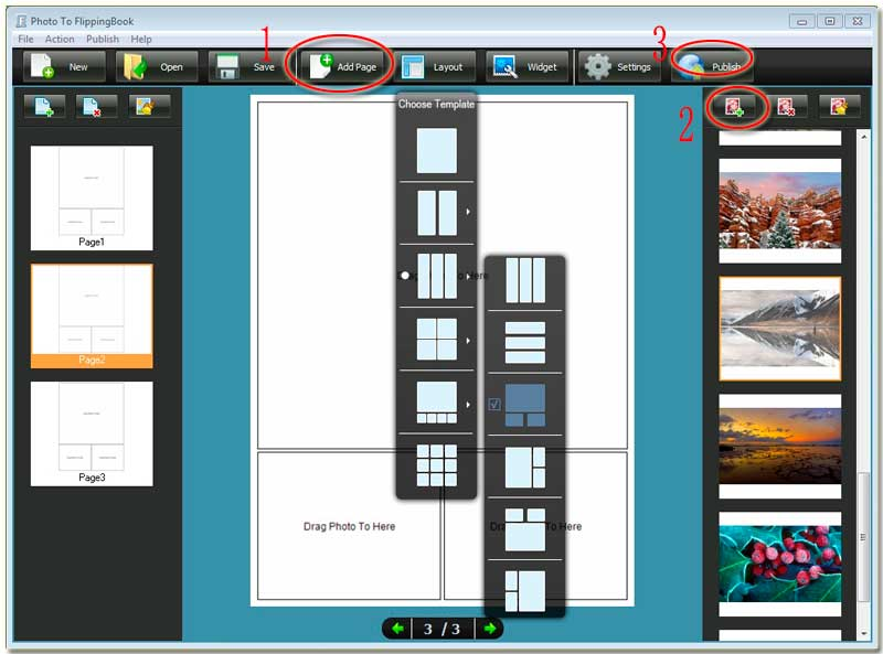 Can I make a digital cool-album or product catalog with special ...