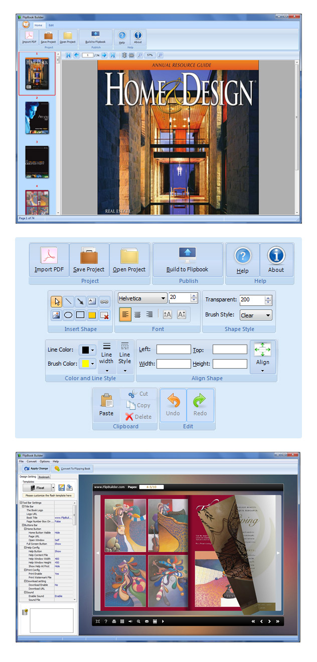 FlipBook Builder 1.5 full
