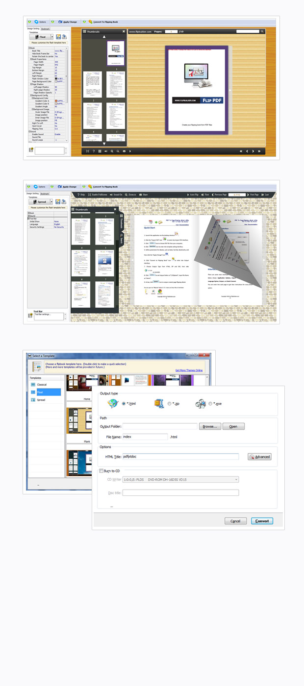 FlipBook Printer full screenshot