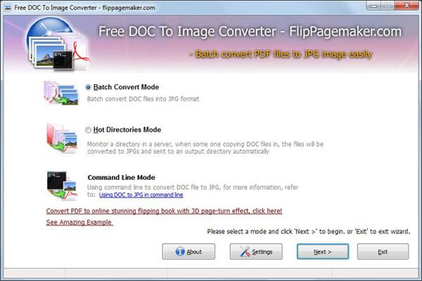 Flippagemaker Doc to Image freeware