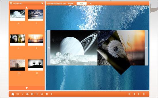 FlipPageMaker Free FlipPhoto Maker