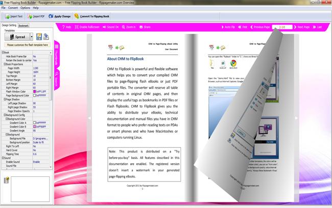 FlipPageMaker Free Flipping Book Builder