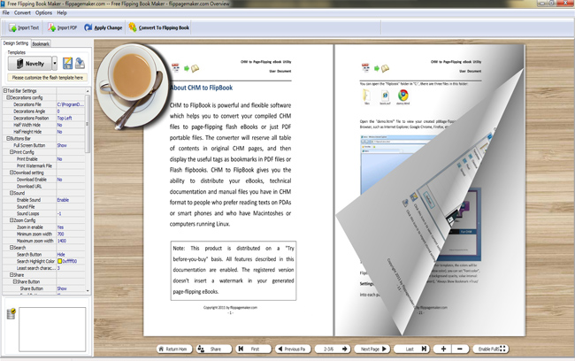 flippagemaker free flipping book maker make html flip page
