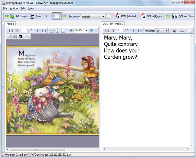 free ocr software convert pdf