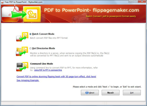 Image result for pdf to ppt screenshot