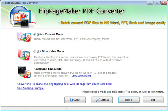 Convert PageMaker documents