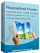 Box shot of Boxoft Flash Flip Book Creator for Html5