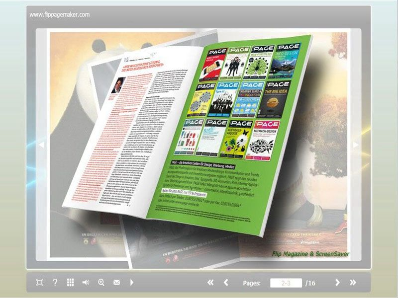 Windows 7 FlipPageMaker - Flipping Book for Outdoor Animal 1.0 full