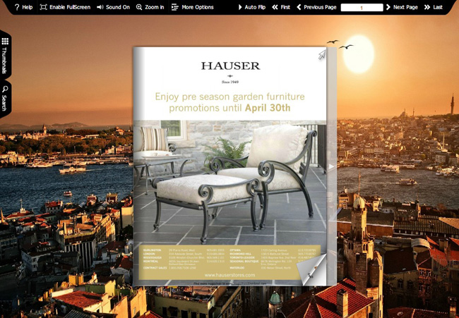 City Impression Theme Templates full screenshot