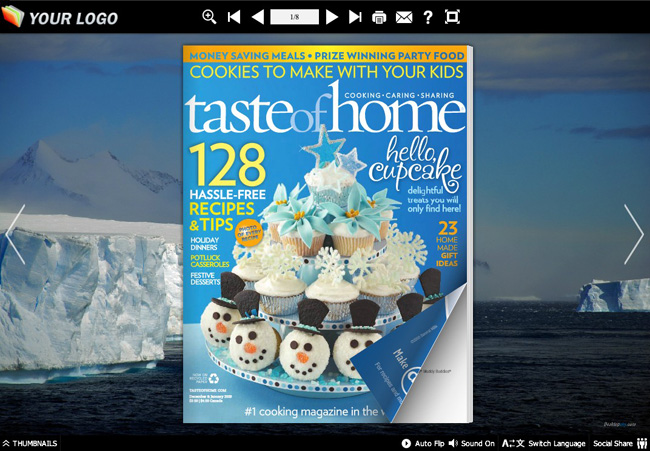 Iceberg Theme Templates full screenshot