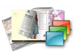 GENTLE theme includes 4 free templates building professional flipping book.