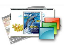 free pure-water templates help you quicl create flipping online publications.