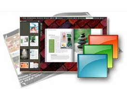 free templates Red Brick for FlipBook Creator (Pro)