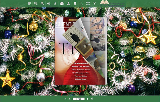 FlipBook Creator Themes Facile Direct - Christmas Tree