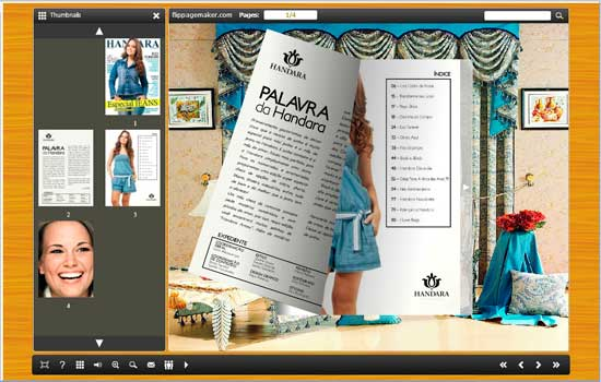 Download free flipbook creator themes pack curtain by for Curtain creator software