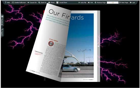 FlipBook Creator Themes Pack - Lightning
