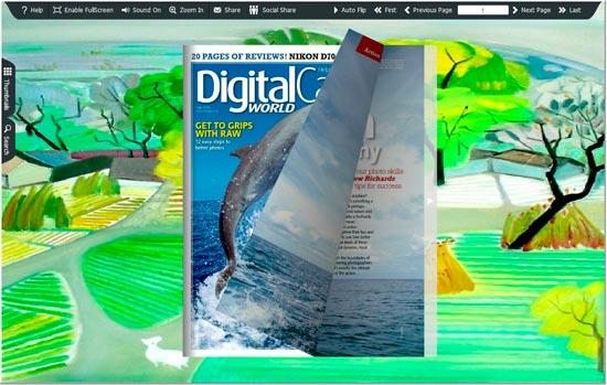 FlipBook Creator Themes Pack - Magic Color screen shot