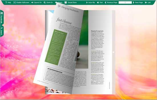 FlipBook Creator Themes Pack - Moonlight screen shot
