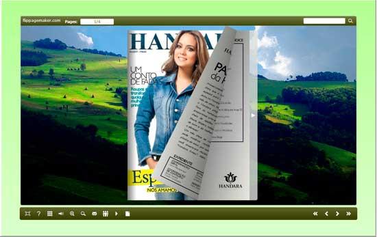 FlipBook Creator Themes Pack - Mountain screen shot