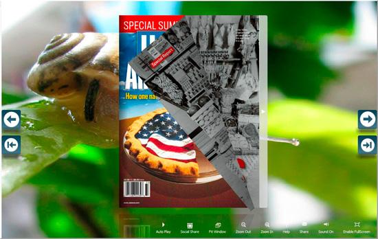 FlipBook Creator Themes Pack -Snail