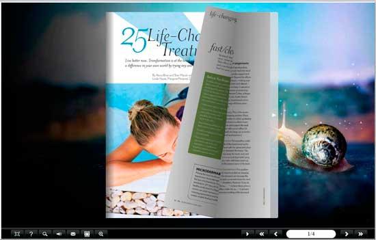 FlipBook Creator Themes Pack - Still-Nature screen shot